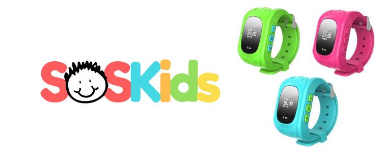 SOSKids Watch - une montre à la mode avec des caractéristiques de sécurité