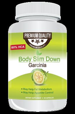 Body Slim Garcinia - la composition du produit