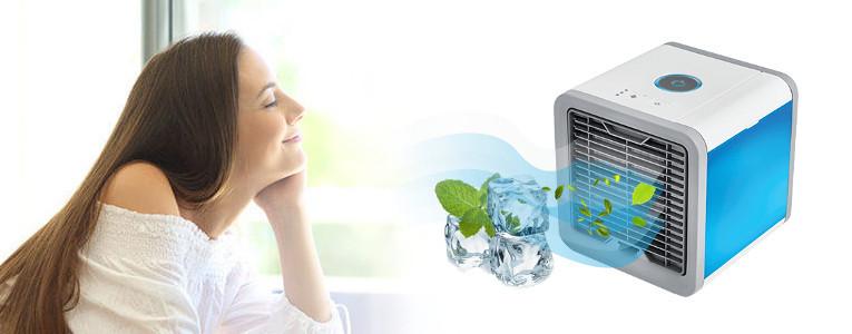 CoolAir: comment marche ce mini climatiseur portable