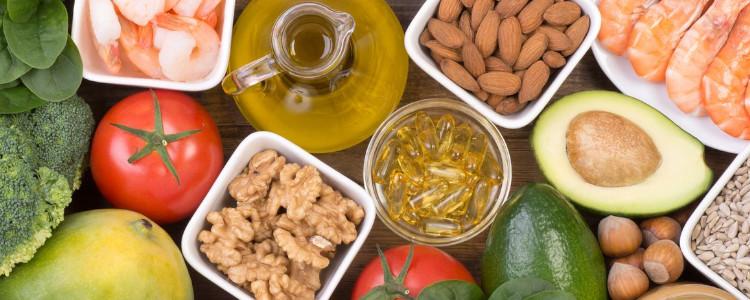 Vitamine E dans les aliments
