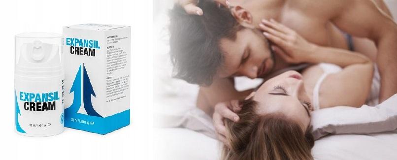 Effets d'application Expansil Cream. Effets secondaires, efficacité.